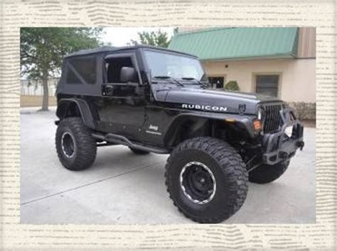 2005 jeep unlimited lifted find used 2005 jeep wrangler rubicon 4x4 unlimited custom