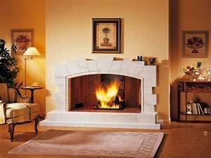 Cheminée à Foyer Ouvert : cheminee ouverte avantages et inconv nients de la ~ Premium-room.com Idées de Décoration
