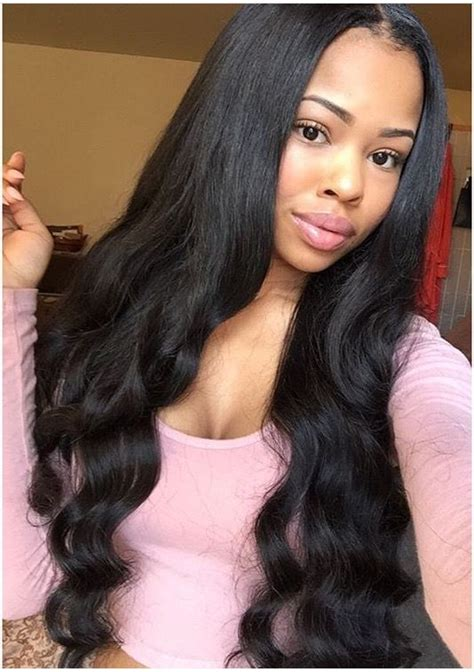 Pictures Of And Wavy Sew In Hairstyles by Wavy Weave Styles Hair Color Ideas And Styles For 2018