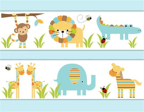 Safari Animal Wallpaper Borders - 1566 best images about nursery wallpaper border on
