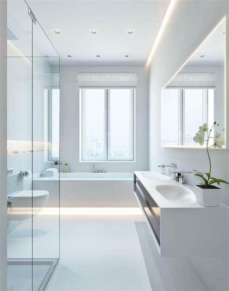 White Modern Bathroom by Best 25 Modern White Bathroom Ideas Only On