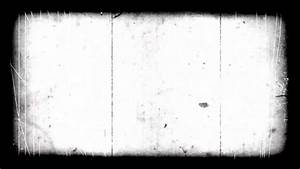 very old film look with scratches and border - HD overlay ...