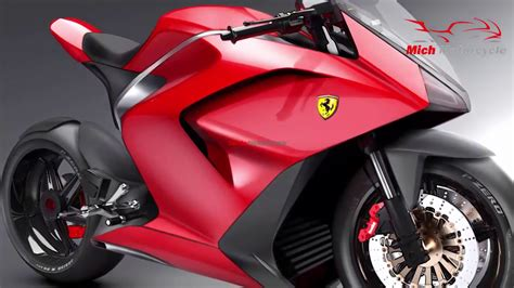 New Motorcycle Ferrari Furia Supersports Designed By