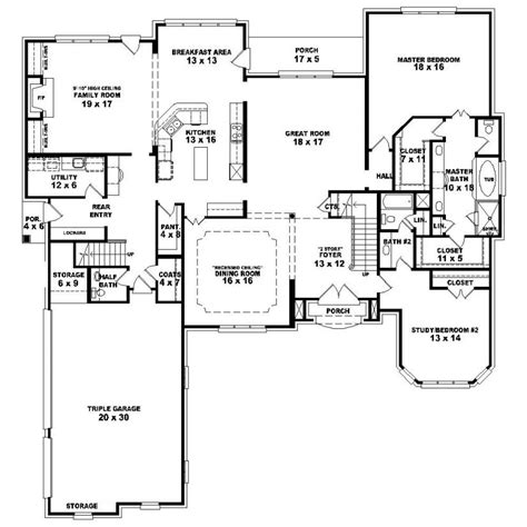 4 bedroom house plans 1 4 bedroom one house plans marceladick com