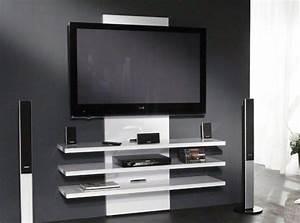 Meuble Tv Design Blanc Laqué : meubles tv et hi fi comparez les prix pour professionnels sur page 1 ~ Teatrodelosmanantiales.com Idées de Décoration