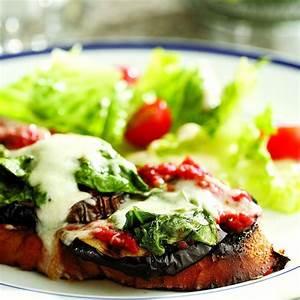 Grilled Eggplant Parmesan Sandwich Recipe - EatingWell