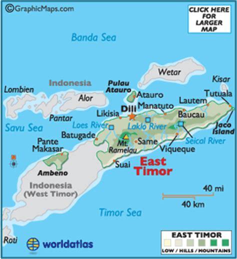 east timor time  chronological timetable