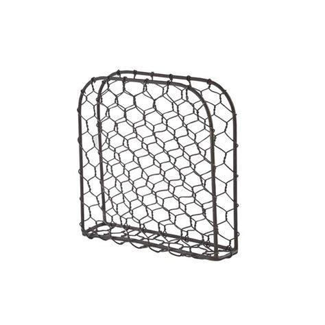 chicken wire napkin holder park designs