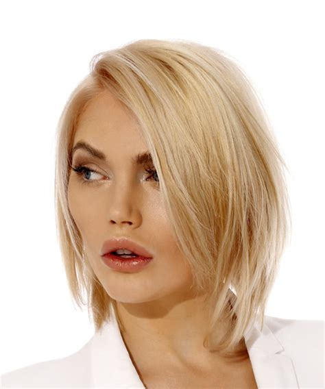 Bright Bob Hairstyles by Casual Bob Hairstyle Light Hair Color
