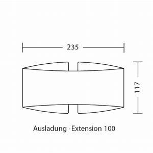 Halogen Oder Led : blendfrei gebogene design wandleuchte voil mit halogen oder led casa lumi ~ Watch28wear.com Haus und Dekorationen