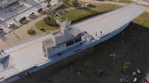 เรือจำลองจักรีนฤเบศร ปากน้ำหลังสวน - YouTube