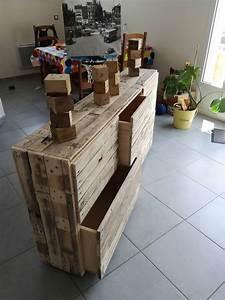 Meuble Pour Vetement : meuble chambre enfant pour v tements ou jouets kids room pallet cabinet 1001 pallets ~ Teatrodelosmanantiales.com Idées de Décoration