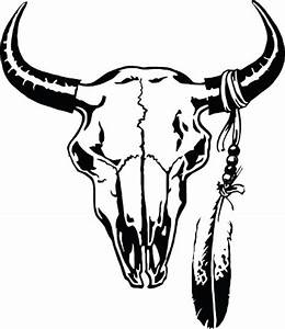 Cattle Skull Decal | Clipart Panda - Free Clipart Images