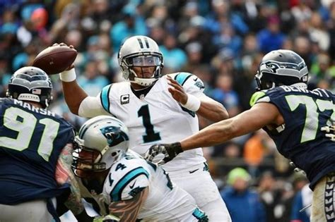 panthers defeat seahawks head  nfc title game las