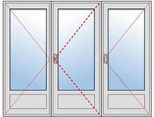 Fenetre 3 Vantaux Pvc : porte fen tre pvc 3 vantaux sur mesure ~ Melissatoandfro.com Idées de Décoration