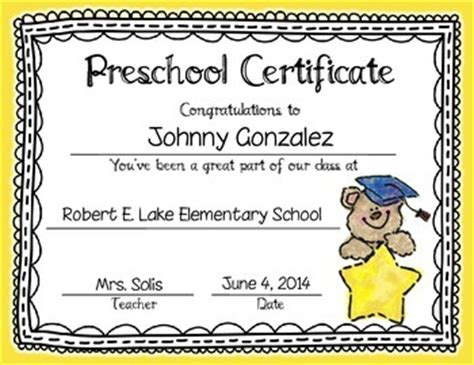 graduation certificates amp invitation editable prek 355 | original 1254742 1