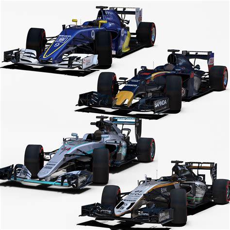 Low Poly Formula 1 | Free 3D models
