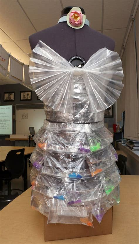 students  recycled materials  create art