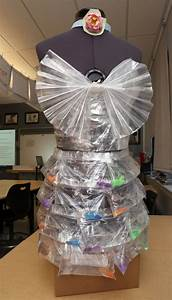 Students Use Recycled Materials To Create Art