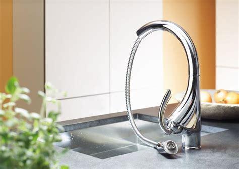 robinet cuisine escamotable mitigeur évier grohe k mousseur extractible 33786000