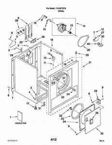 Kenmore 1106072010 Dryer Parts