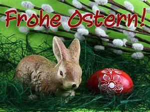 Frohe Ostern Lustig : osterhase mit osterei frohe ostern ostern hintergrundbild ~ Frokenaadalensverden.com Haus und Dekorationen