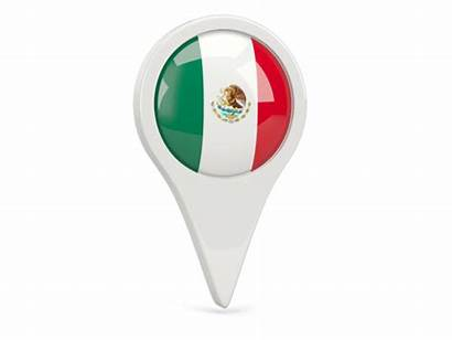 Mexico Icon Round Flag Commercial Non Use