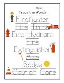 Printable Fire Safety Worksheets