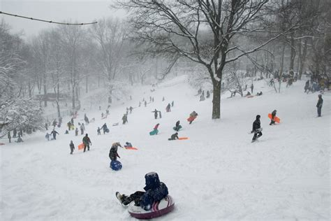 countrys largest districts  snow days