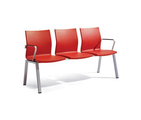uma actiu chair bench product within office waiting room