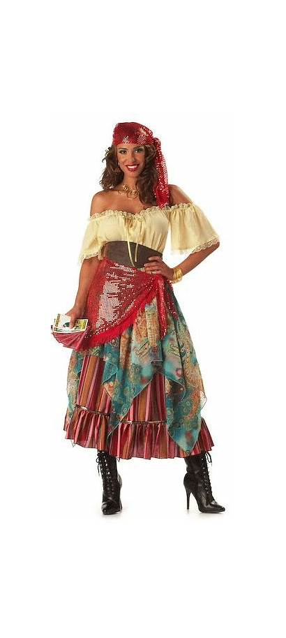 Gypsy Costume Costumes Fortune Teller Halloween Adult
