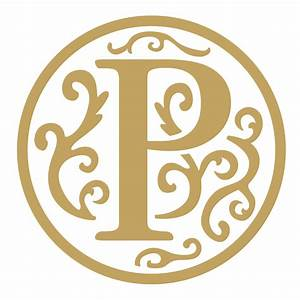 Letter P Wax Seal Die Shiny Wax Seals Stock Designs