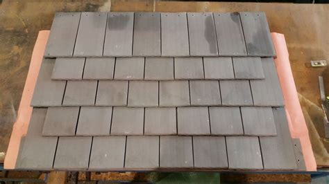 ludowici roof tile green new ludowici provincial flat shingle clay roofing tile ebay