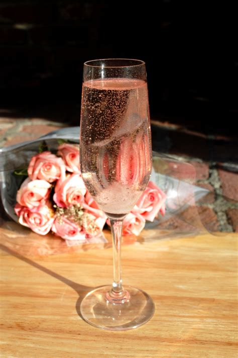 savvy housekeeping rose champagne cocktail