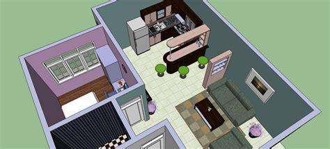 Sketchup Interior Design - Ahmadi-faqih