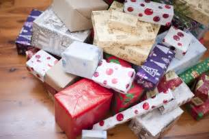 photo of pile of gift wrapped christmas presents free christmas images