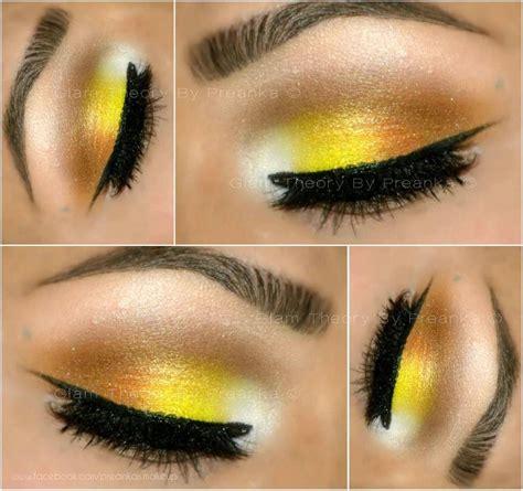 yellow gold pretty makeup stunning makeup eye makeup