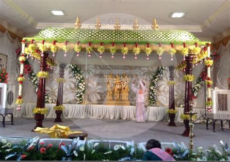mandap green pandhal wedding mandap wedding
