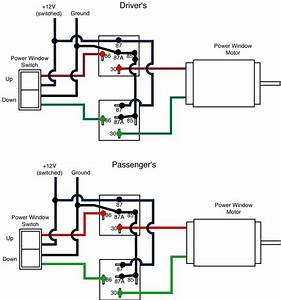 5 Pin Power Window Wiring Diagram