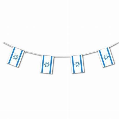Bunting Flag Israel Plastic Israeli Party Flags