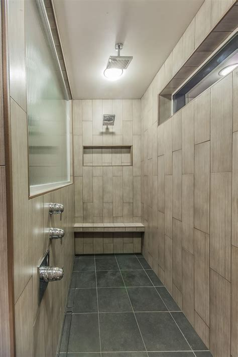 In The Shower by 9 Shower 6x24 Vertical Tile Walls 12x24 Shower Pan