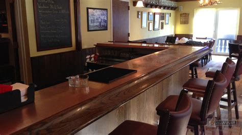 custom bar tops for sale copper bar top with drink tray massachusetts usa