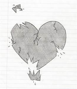 Easy Broken Heart Drawings In Pencil | our-healthy-tips ...