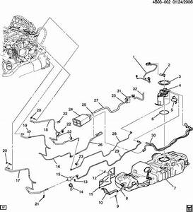 Parts For Pontiac Aztek Fuel System Diagram