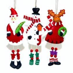 knobbly knees clay christmas tree ornaments handmade xmas memes