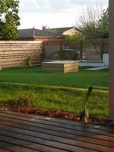Claustra De Jardin : jardin de traverses constans paysage terrasse bois ~ Premium-room.com Idées de Décoration