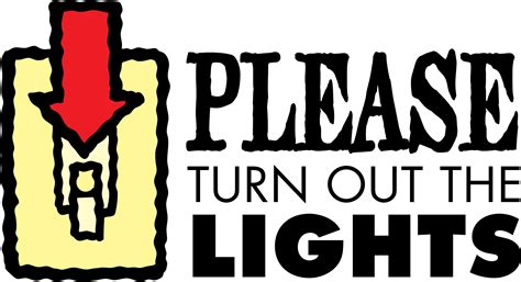 turn the lights clipart turn the light pencil and in color