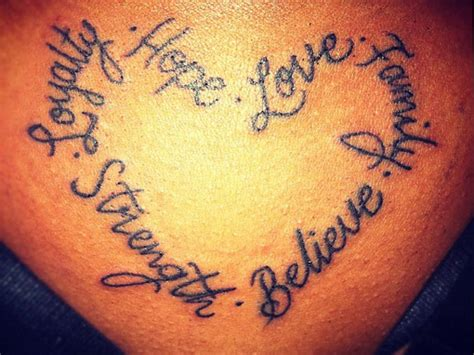 Tattoos Meaning Love And Strength