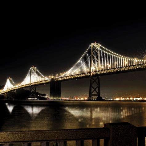bay bridge lights the bay lights bridge installation nears grand