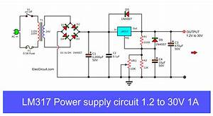 My First Variable Power Supply Using Lm317